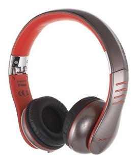 Auricular Casio Xw-h3 Circumaurales Rojo