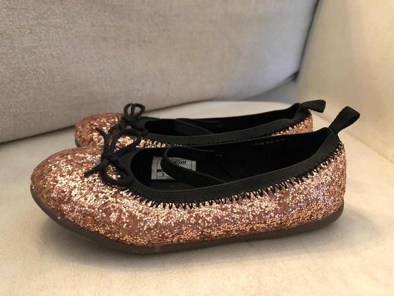 Zapatos De Nena Brillantes Oshkosh