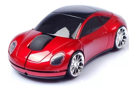 Mouse Óptico - Carro Com Led Farol E Freio