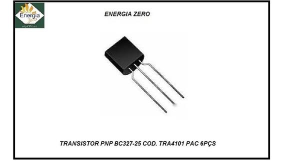 Transistor Bc327-25 Pac 6 Pçs Pnp Cod. Tra4101