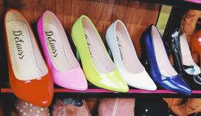 Zapatos Tacones Modernos Para Usar Con Falda O Pantalón