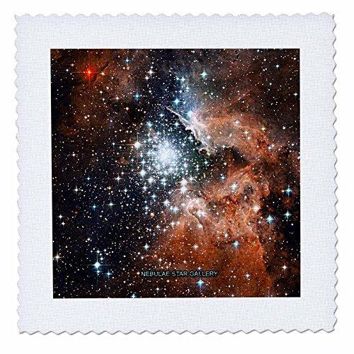 3drose Qs_76786_6 Galaxy And Nebulanebulae Star Galleryquilt