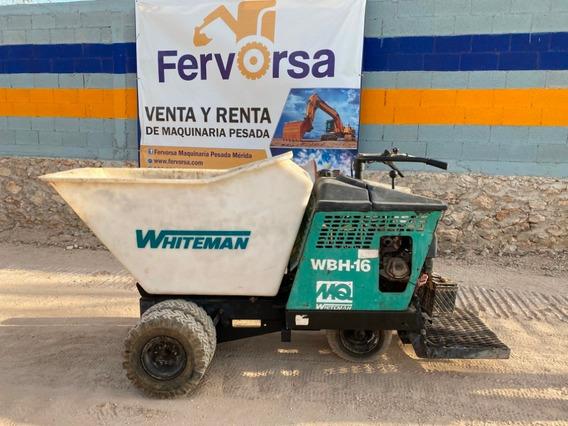 Carretilla Motorizada Wbh-13e De 1.2 Toneladas