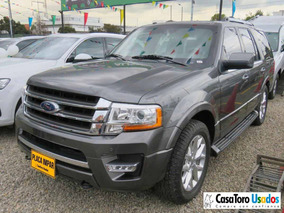 Ford Expedition Limited 4x4 Blindada At 3500cc 2017