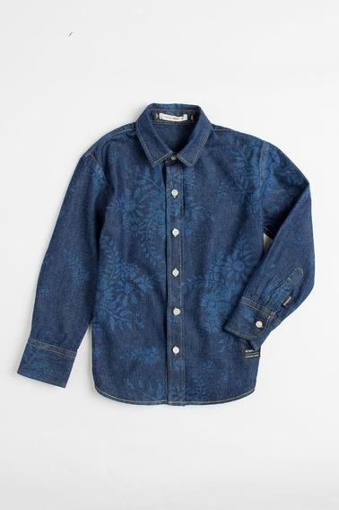 Camisa Mini Pf Jeans Abais Reserva Mini