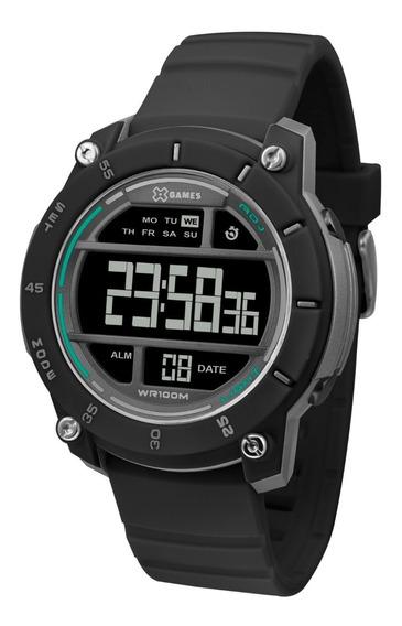 Relógio X-games Masculino Digital Xmppd511 Preto Negativo
