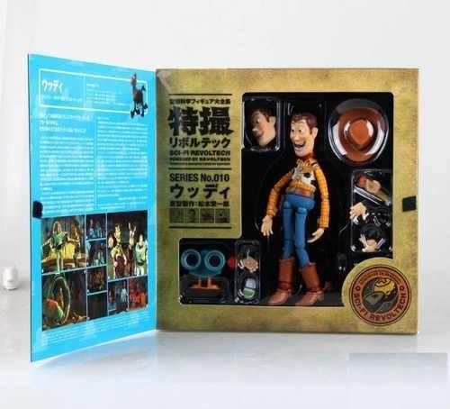 Boneco Xerife Woody Filme Toy Story 16cm Serie Disney Store
