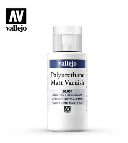 Polyurethane Matt Varnish 26651 60ml Vallejo Modelismo