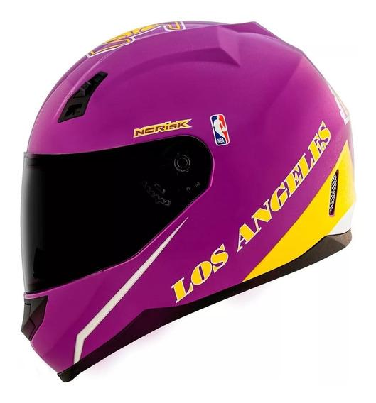 Capacete Norisk Ff391 Nba Los Angeles Lakers