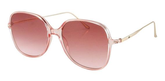 Anteojos De Sol Infinit Square - L.pink.redwine.grd Standard