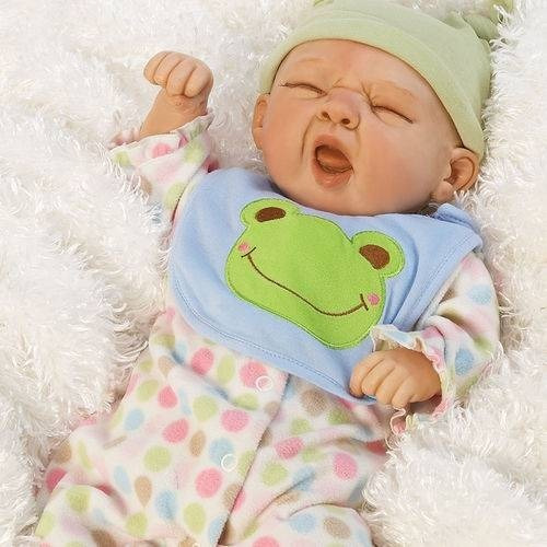 Boneca Reborn Sleepy Frog Paradise Galleries Sleepy Frog
