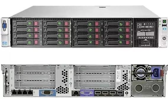 Servidor Hp Hpe Dl 380p Gen8 - 10 Cores E5-2680v2
