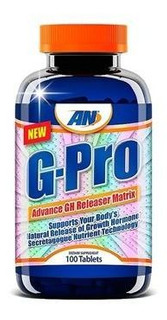 Suplemento Gh Pro Arnold Nutrition 100 Tabs
