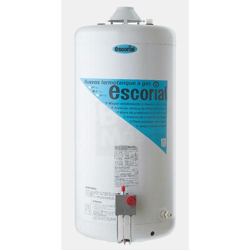 Termotanque Gas 80 Lts Multigas Gn/gl Escorial