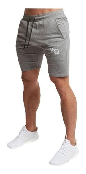 Gym Entrenador Yort Bermudas Tennis Short Hombre Algodon