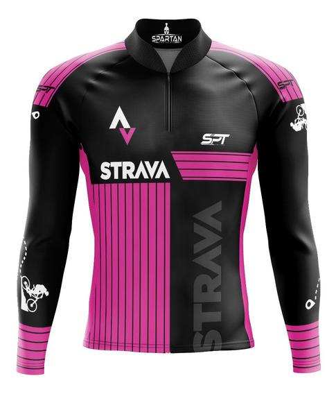 Camisa Mtb Ciclista Spartan New M/l (f) Ref 02.3 Uv 50+