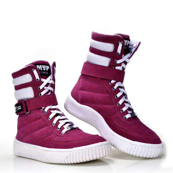 Tênis Mvp Boot Fashion - Pink (2)