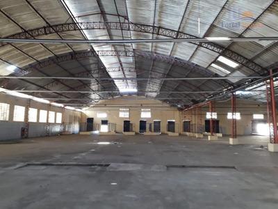 Galpão/depósito 5.000m² Em Terreno De 8.000m² , Barra Do Ceará, Fortaleza. - Ga0093
