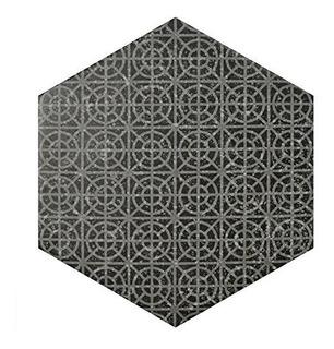 Somertile Feqcsxmb Koralstone Hexagon Porcelanato Para Suelo