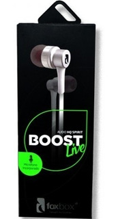 Auricular Foxbox In Ear Boost Live