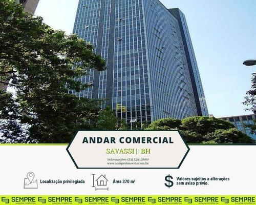 Imagem 1 de 23 de Andar Vão Livre Para Alugar, 370 M² E 08 Vagas - Savassi - Belo Horizonte/mg - Ac0097