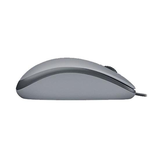 Mouse Logitech M110 Silent Cinza Usb Silencioso Nf