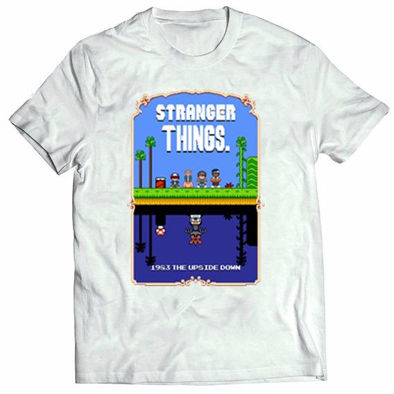 54a14efce14f Camiseta Stranger Things Mundo Invertido - Camisetas e Blusas com o ...