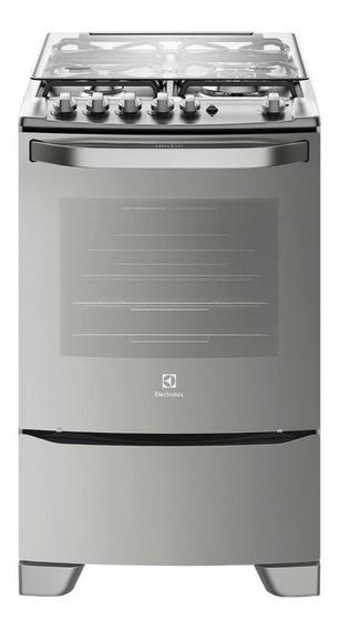 Cocina Electrolux 56TAX 4 multigas acero inoxidable 110V/220V puerta visor 59.3L