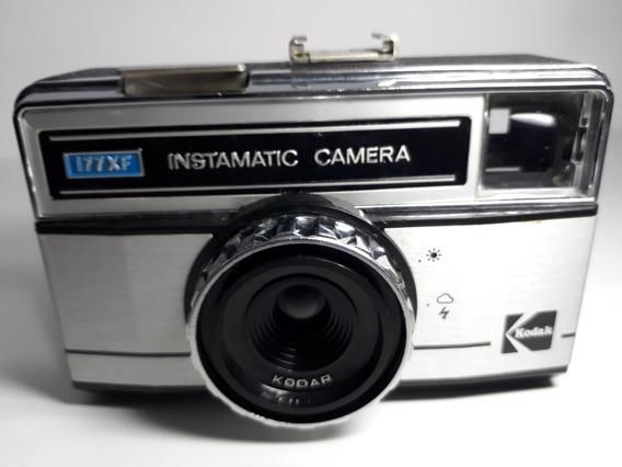Câmera Fotográfica Kodak Instamatic 177x-f1 - Semi-nova!