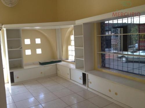 Casa Comercial Para Locação, Vila Altinópolis, Bauru. - Ca1432
