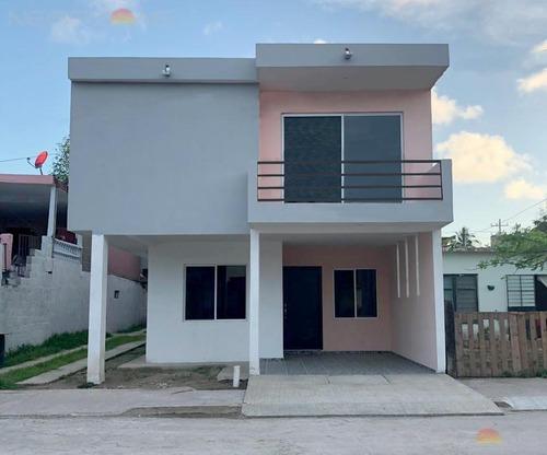 Venta De Casa Nueva En Col. Lucio Blanco (francisco Villa), Cd. Madero