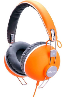 Auriculares Dj Profesionales Idance Hipster 704 Vintage Mic
