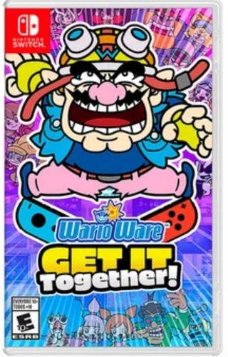 Imagen 1 de 1 de Wario Ware Get It Together ! Nintendo Switch