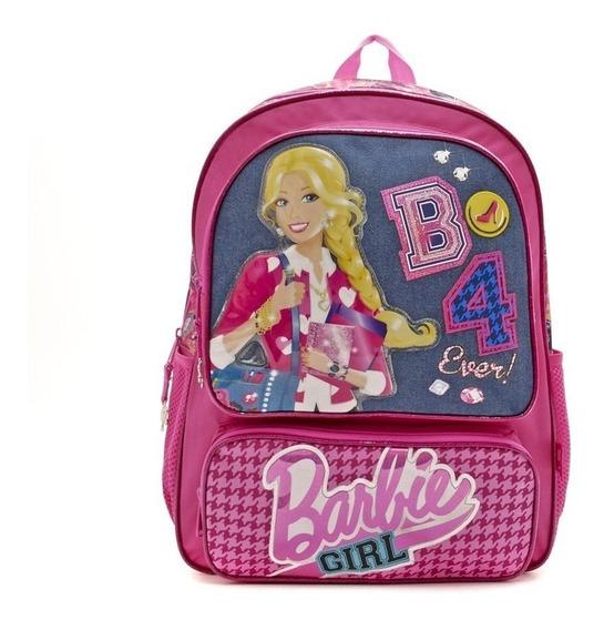 Mochila De Espalda Barbie B4 Original Vuelta Al Cole