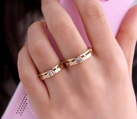 Alianças De Ouro 18k/750 De Casamento + Diamantes Al33vj
