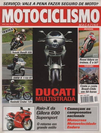 Motociclismo N°52 Kasinski Cruise 125 Bandit 600 Bmw R1150rt