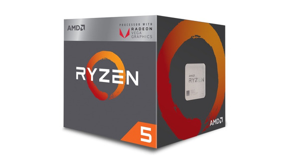 Processador Ryzen 5 2400g 3.6 Ghz 4-core Am4 6mb 65w Box Amd