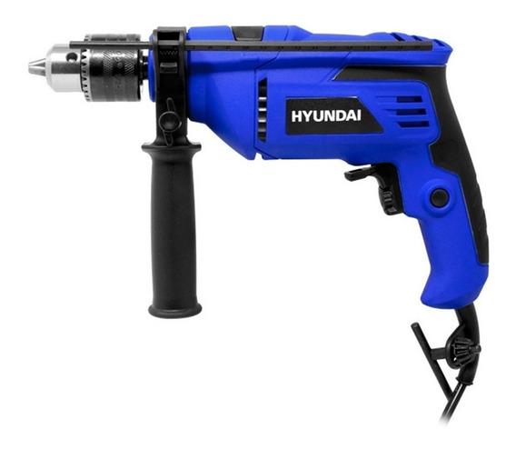 Rotomartillo Taladro 500w 1/2 PuLG Azul Hyrt500 Hyundai