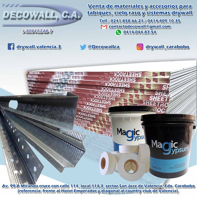 Laminas Drywall Techo Pared Cielo Raso (anime, Yeso, Pvc)
