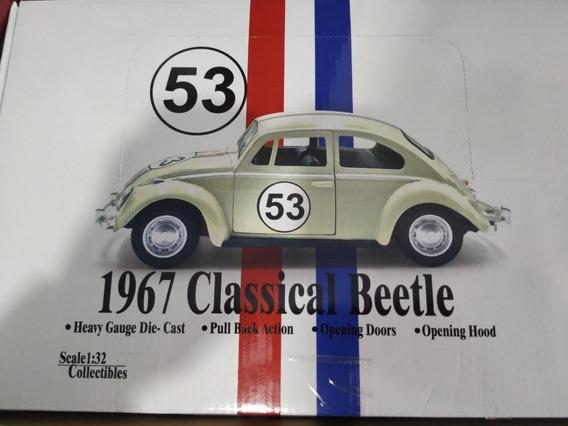 Kit 12 Un Miniatura Fusca Herbie 1967 - Escala 1:32