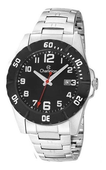 Relógio Champion Sport Masculino Prata Ca31300t