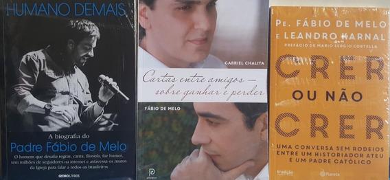 Pe. Fábio De Melo A Biografia Kit + 2 Livros Frete 20