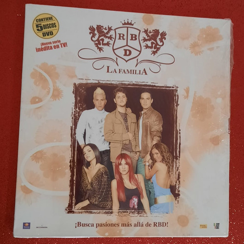 Box La Familia Rbd Ed. Colecionador Espanha Lacrado Original