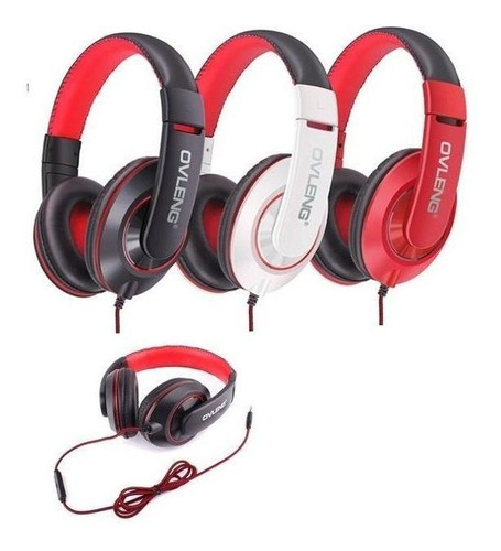 Headset Over Ear Audifono Microfono Gamer Ovleng X13