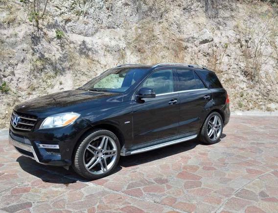 Mercedes-benz Clase M 2012 5.5l Ml 500 Lujo Mt