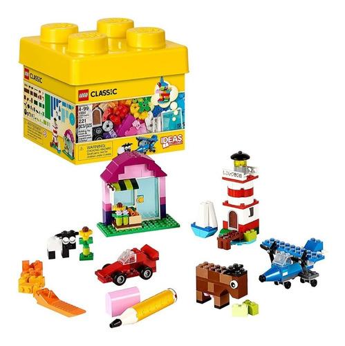 Lego Classic Juego Construcción Ladrillos Bloques 221 Piezas