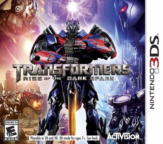 Transformers Rise Of The Dark Spark Nintendo 3ds Novo