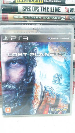 Lost Planet 3 Ps3 Mídia Física Lacrado