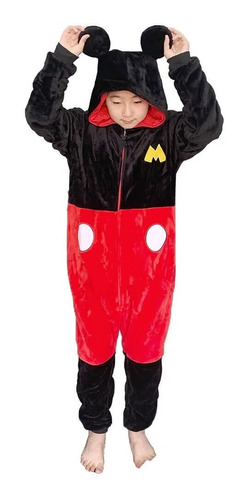 Macacão Kigurumi Tam P Mickey Mouse Zc 10071352