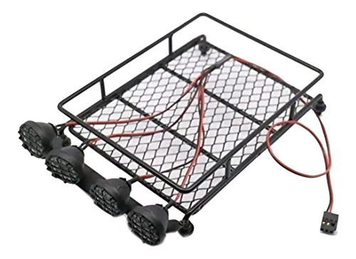 Aleacion De Aluminio Techo Luggage Rack Con Luz Led
